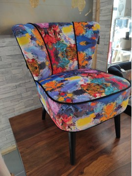 Fauteuil Gatsby Oil Painting