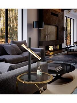 Lampe de table Varas or/noir