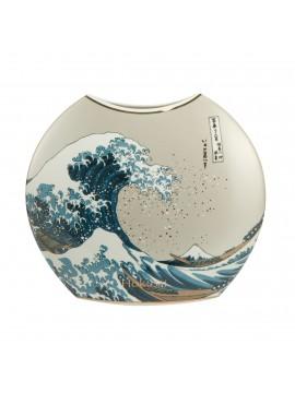 Vase La Vague Hokusai grande taille