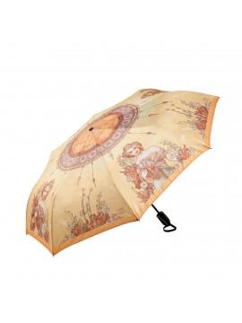 Parapluie pliable Le Printemps d'Alphonse Mucha